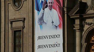 Il papa parte per Cile e Perù, massima allerta