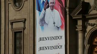 Pope begins trip to Chile