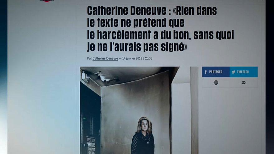 Deneuve apologises to sexual assault victims