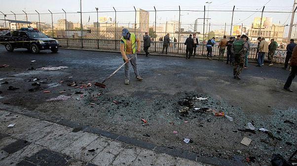 دو انفجار انتحاری در بغداد دستکم ۳۵ کشته بر جای گذاشت