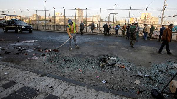 مقتل 38 وجرح 100 في تفجيرين انتحارييْن وسط بغداد