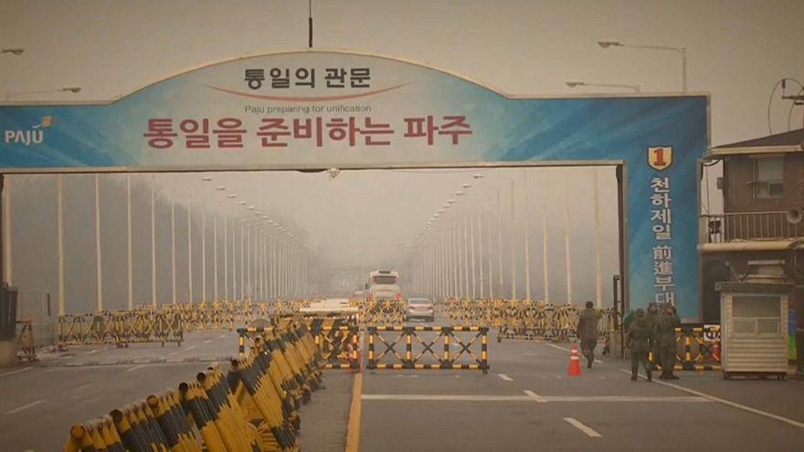Kuzey ve Güney Kore heyetleri yeniden bir arada