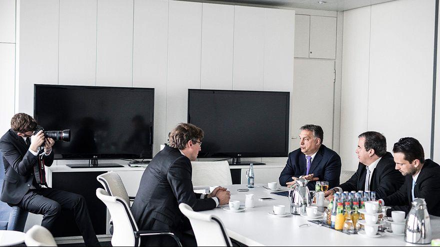 Orbán Viktor miniszterelnök interjút ad a Welt am Sonntag német hetilapnak
