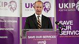 Εγκατέλειψε την ερωμένη του ο ηγέτης του UKIP μετά την ρατσιστική επίθεση κατά της Μαρκλ