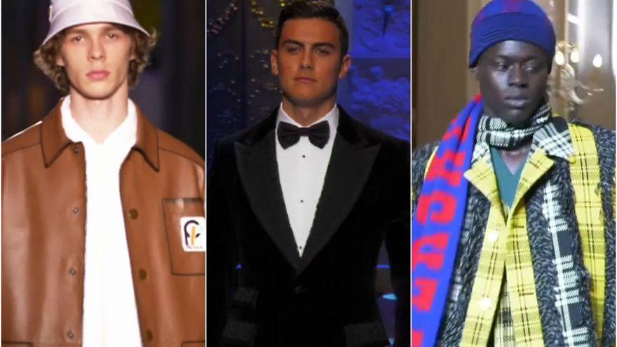 Prada, Dolce & Gabbana e Versace in passerella per Milano Moda Uomo