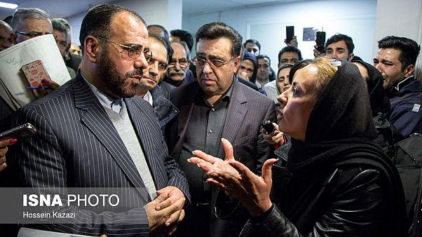 اعتراض خانوادههای جانباختگان نفتکش سانچی به نماینده رئیس جمهوری