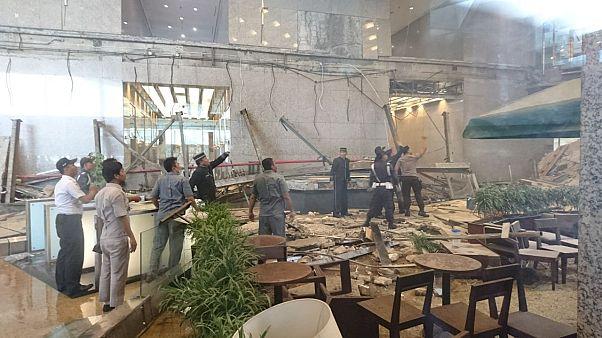 Effondrement à la Bourse de Jakarta.