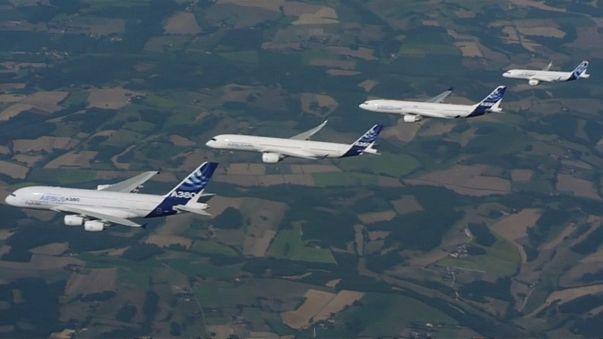 Airbus Bestellkönig, Boeing liefert mehr aus