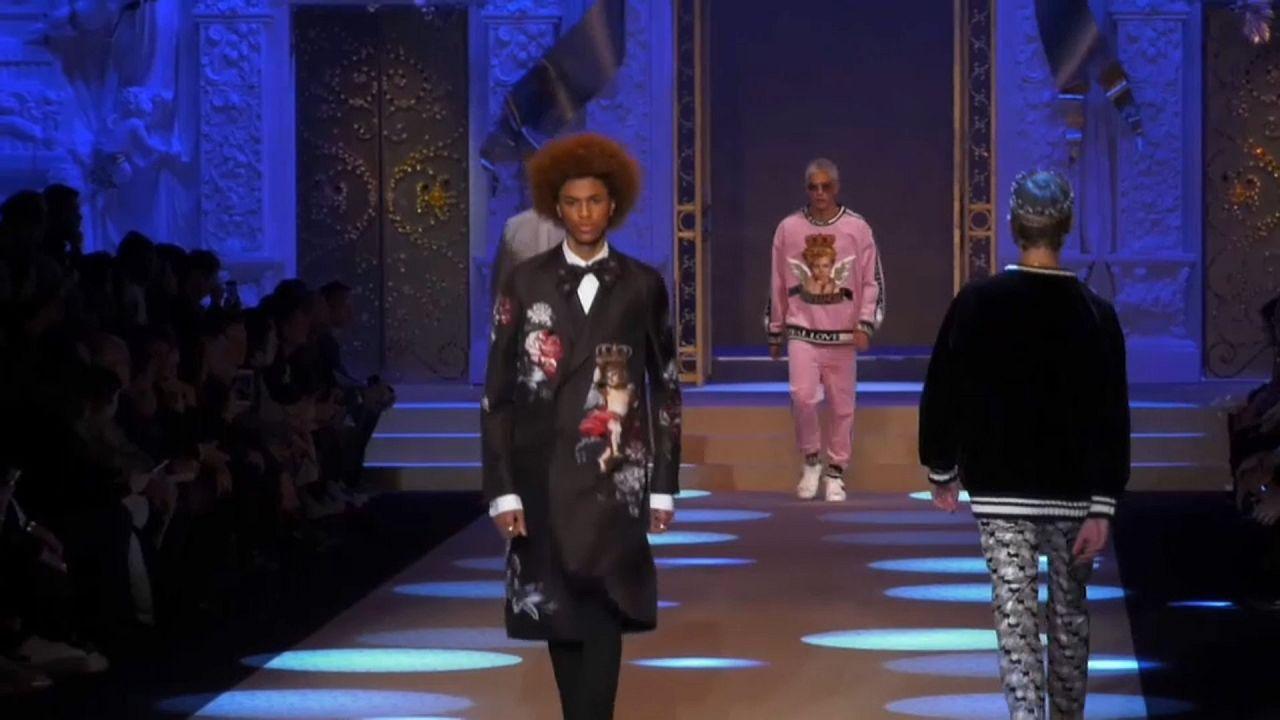 Prada, Dolce & Gabanna e Versace desfilam em Milão