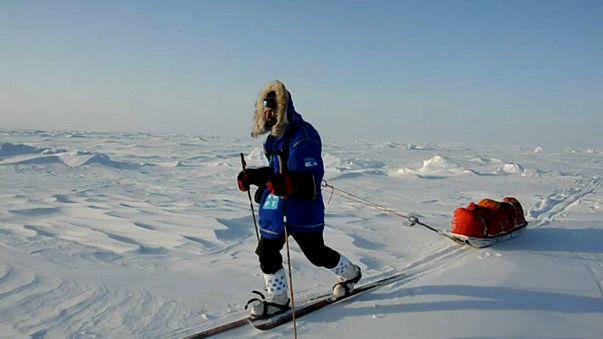 Um português no Polo Sul