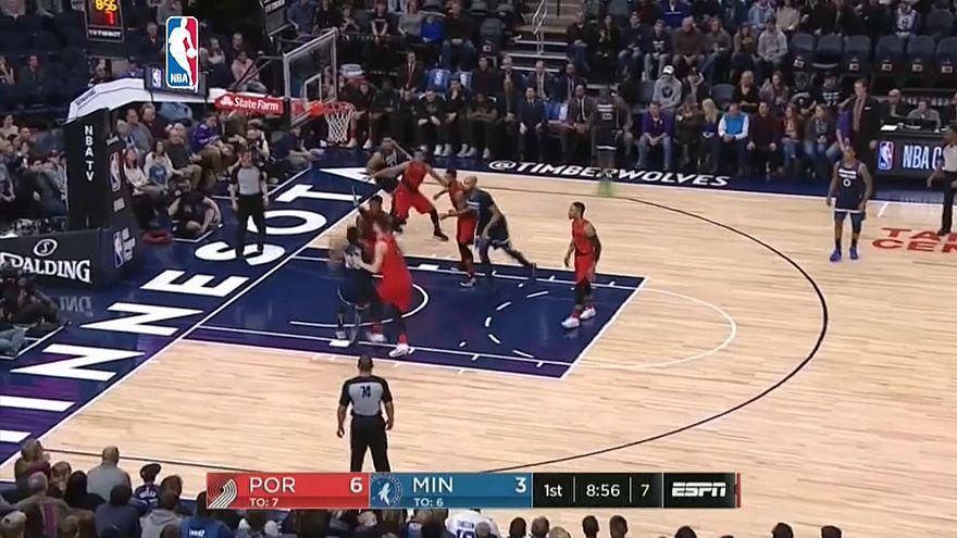 NBA: Minnesota batte Portland
