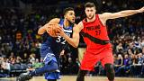 NBA: Timberwolves kendi evinde Trail Blazers'ı affetmedi