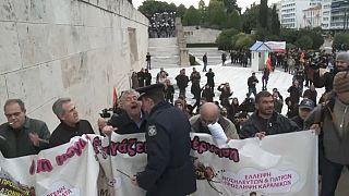 Grecia contra la austeridad