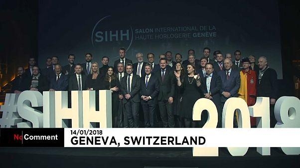 28-я выставка часового мастерства в Женеве