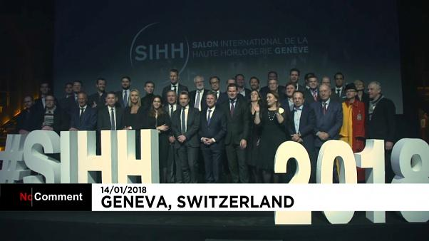 Los relojes más lujosos del mundo expuestos en Ginebra