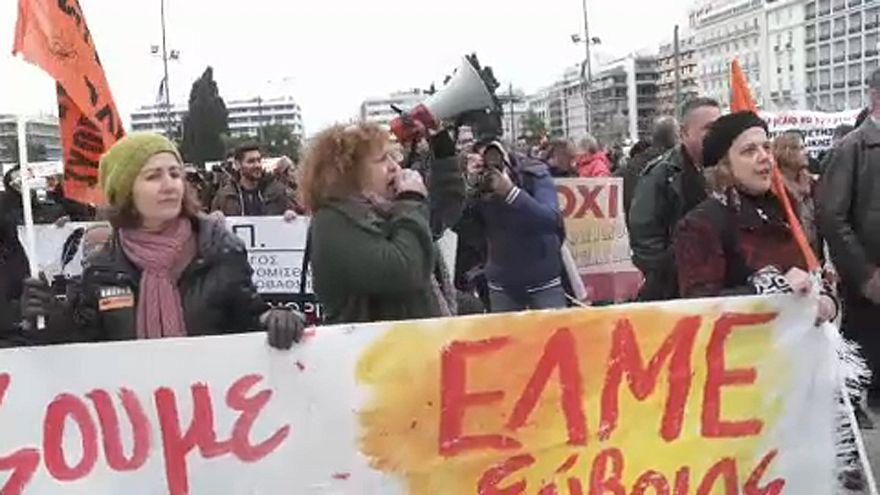 24 órás sztrájk Görögországban
