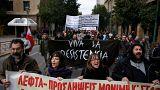 Греки митингуют и бастуют против новых реформ