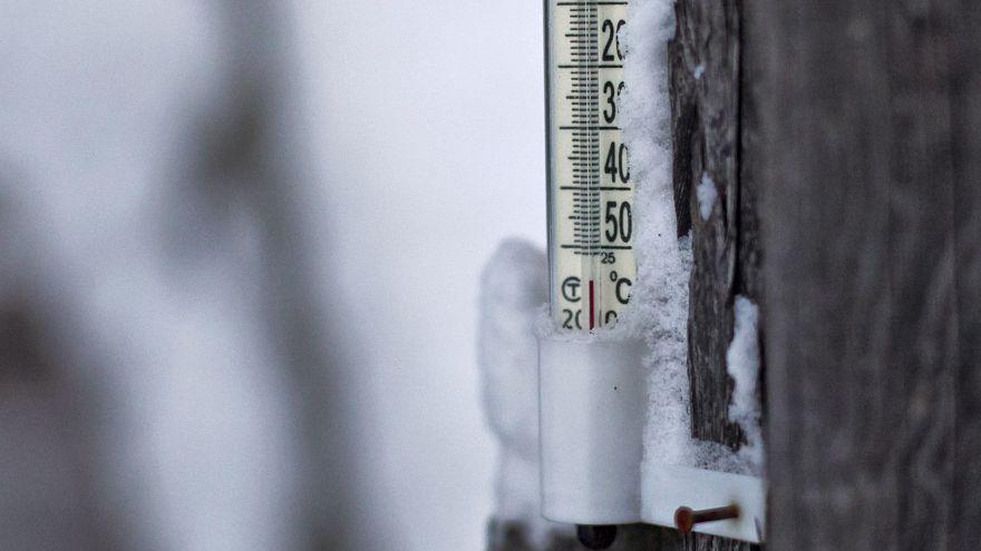 -62° Celsius: Wenn auch die Thermometer einfrieren...