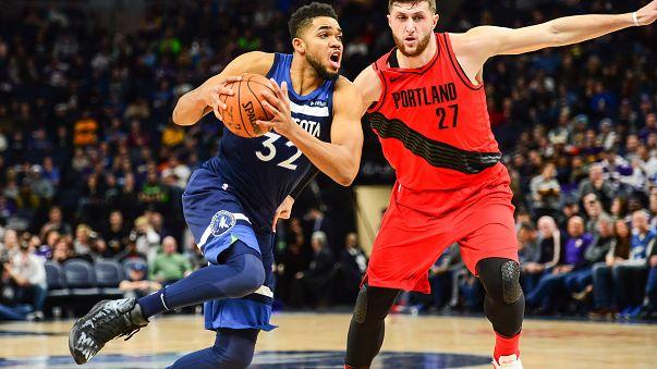 Minnesota Timberwolves ganan sin apuros a Portland Trail Blazers