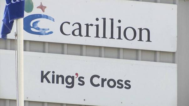 Fears of job losses in UK after Carillion collapse