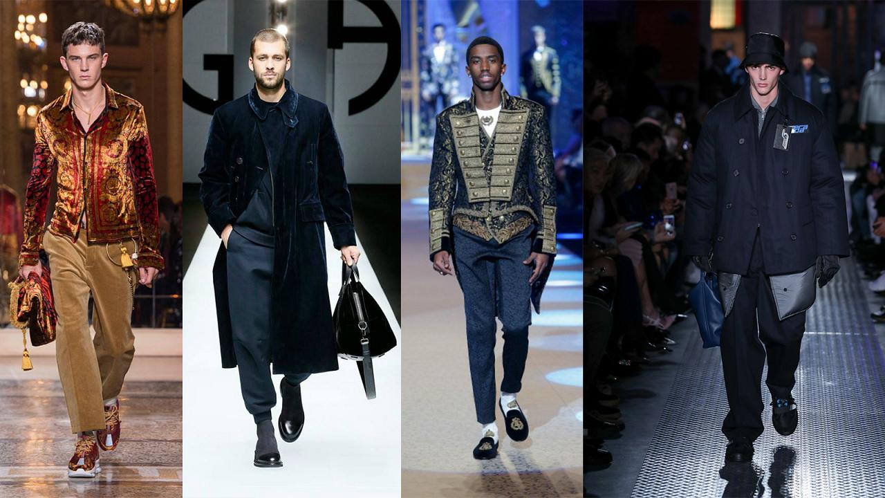 Take a look at the latest trends at the Milan Fashion Week