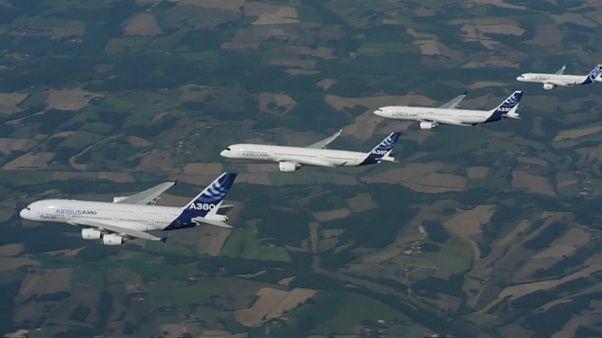Airbus ultrapassa Boeing em encomendas pelo quinto ano consecutivo