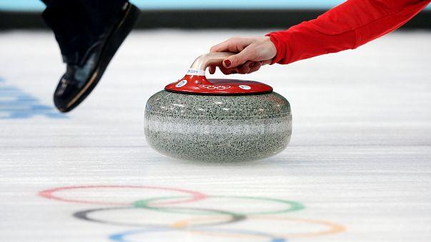 La pierre précieuse du curling