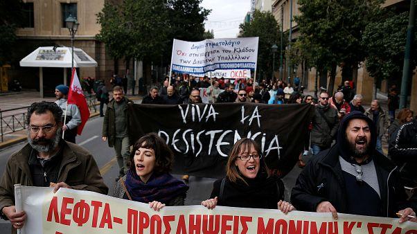 Journée de protestation en Grèce