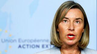La cheffe de la diplomatie européenne, Federica Mogherini