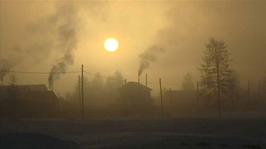 Yakutistan'da dondurucu soğuk can aldı