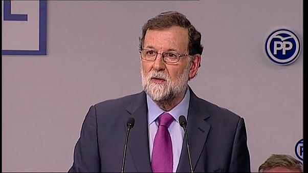 Rajoy says Puigdemont cannot govern from far