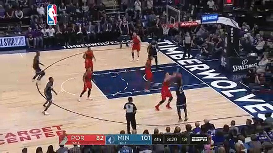 NBA: Minnesotai sikerszéria