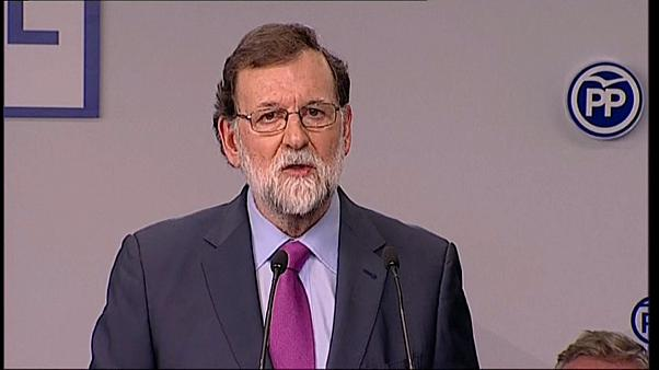 """Rajoy'dan Puigdemont'a: """"Yeniden başkan olamazsın"""""""