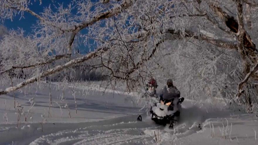 Зима, туристы торжествуют