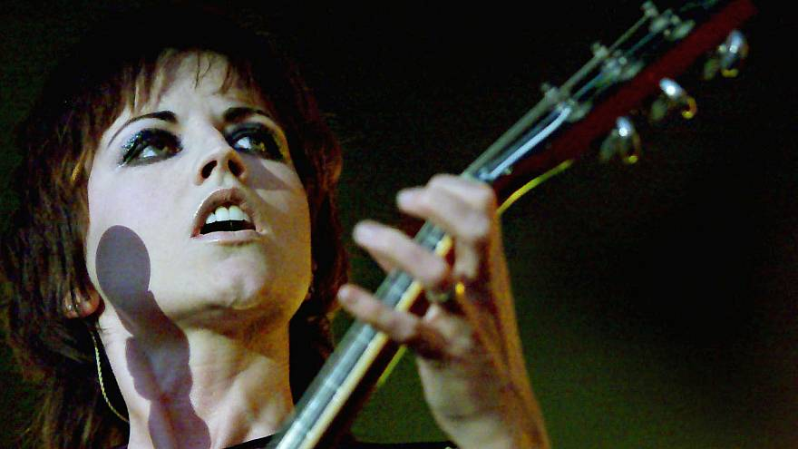"Die Sängerin der Rockband ""The Cranberries"", Dolores O'Riordan, in Dublin."