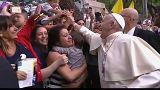 Папа римский прибыл в Сантьяго