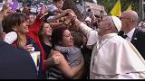 Pope given warm welcome in Chile