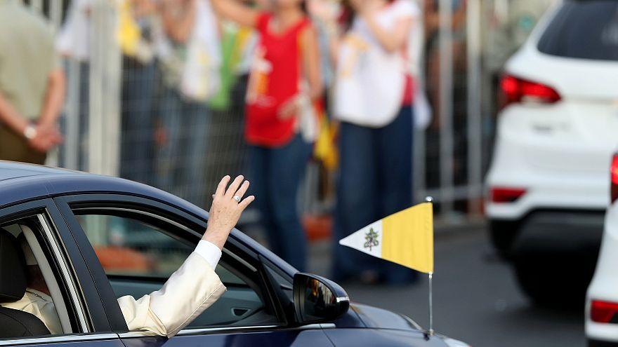 Ο Πάπας Φραγκίσκος έφτασε στη Χιλή