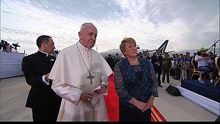 Papa Francis Şili'de