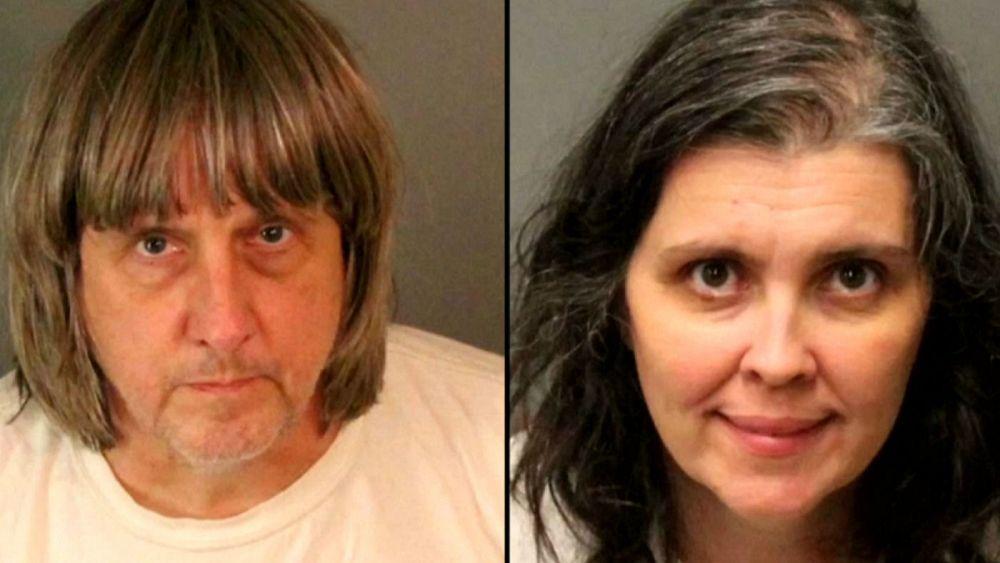 کالیفرنیا؛ دستگیری پدر و مادری که ۱۳ کودک خود را شکنجه می کردند