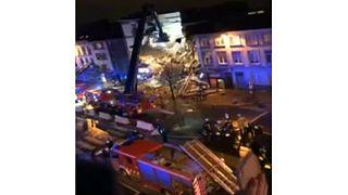 Robbanás Antwerpenben: összeomlott egy lakóépület