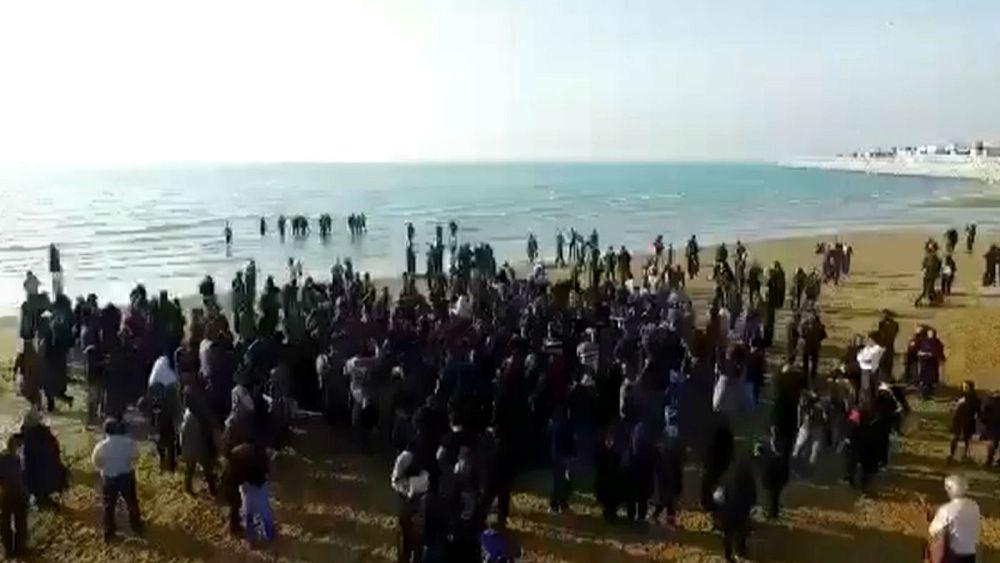 دمام زنی در بوشهر به یاد جانباختگان نفتکش سانچی