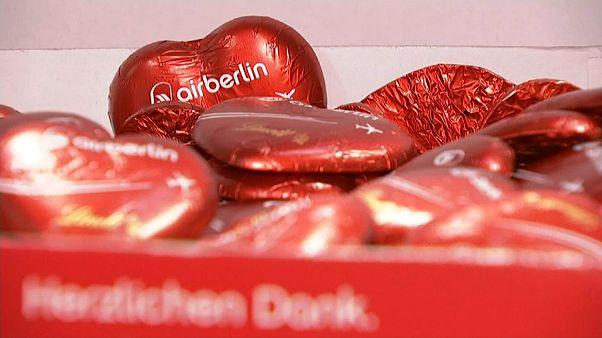 Versteigerung: Tonnenweise Herz für Air Berlin
