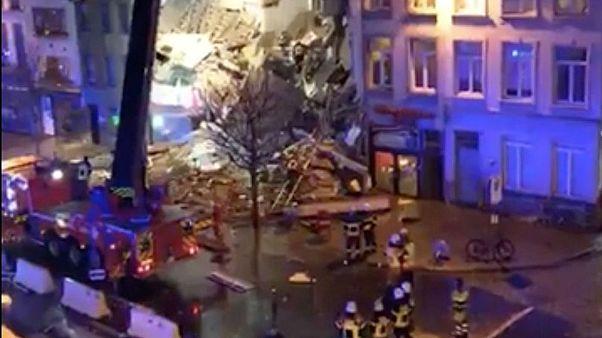بلژیک: دست کم دو کشته در انفجاری ناشی از نشت گاز