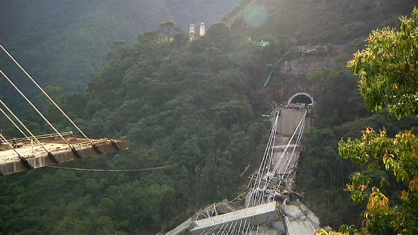 Colombia: crolla ponte in costruzione, almeno 10 operai morti