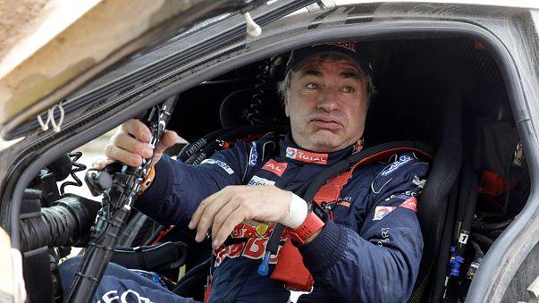 Sainz penalizado em 10 minutos na liderança do Dakar