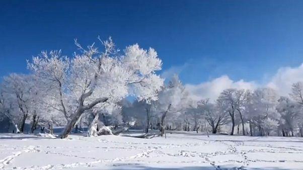 Varázslatos jégvilág Kínában