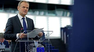 Maradásra buzdítja a briteket az Európai Tanács elnöke