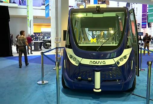 Apuesta por los vehículos autónomos en el Salón Internacional del Automóvil de Detroit