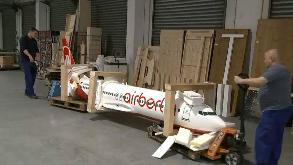 Air Berlin: аукцион предметов из самолетов   Euronews